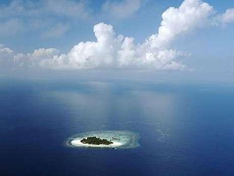 Las hermosas islas Maldivas enfrentan la amenaza de la elevación del nivel de las aguas debido al calentamiento global. Foto: Getty Images