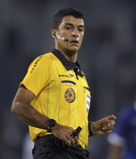 Sandro Ricci, árbitro brasilero para el partido de Colombia contra Perú. Foto: AFP