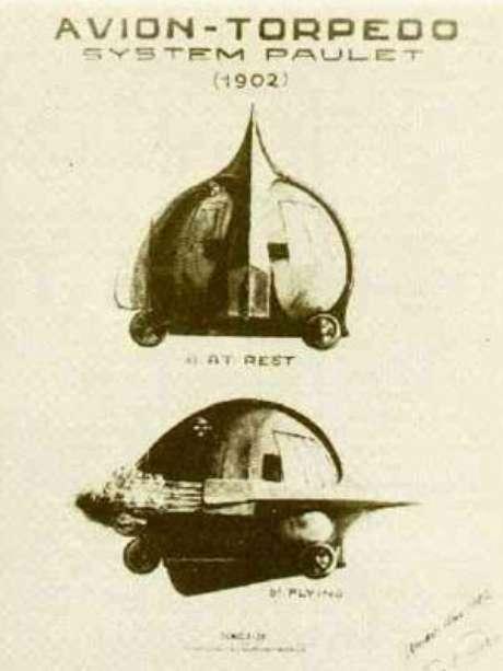 Diagrama de avión torpedo de Pedro Paulet en el Museo Aeronáutico del Perú. Foto: Museo Aeronáutico del Perú