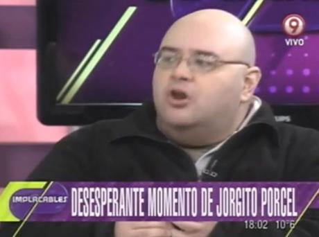 Jorge Porcel volvió a la televisión con peleas con Nazarena Vélez y el panel. Foto: Captura TV