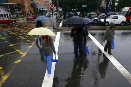 En la Región Metropolitana cayeron 11.4 mm de lluvia en promedio. Foto: UPI