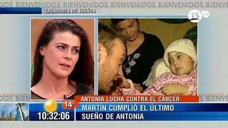 El caso de Antonia estremeció a la animadora. Foto: Reproducción.
