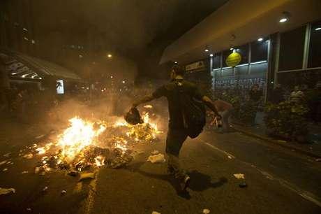 Imagen captada en la ciudad de Sao Paulo Foto: EFE