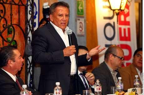 El candidato del PRI a la alcaldía de Puebla, Enrique Agüera Foto: Reforma