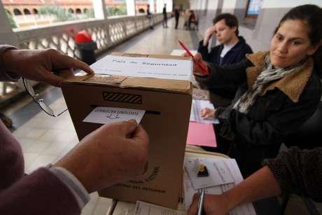 """En la práctica, las PASO también sirven como una """"boca de urna"""", para saber donde están parados los candidatos de cara a las elecciones de segundo término Foto: Télam"""