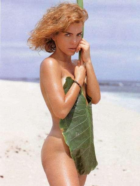 Laura Flores posó para la revista del conejito en 1992. Foto: Playboy México