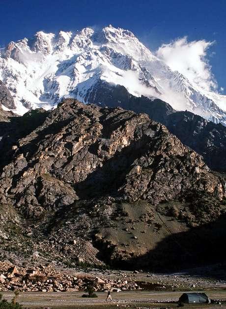 La montaña Nanga Parbat donde se ha producido el atentado Foto: AFP