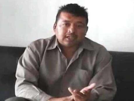 La administración estatal de Sinaloa aseguró que el escolta Frank Armenta Espinoza fue sometido y obligado para hablar ante una cámara. Foto: Tomada de Youtube