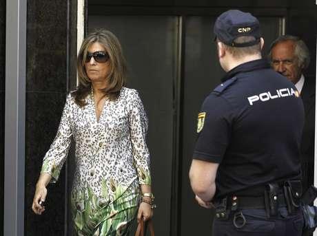 Rosalia Iglesias, mujer de Bárcenas Foto: EFE en español