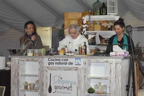 Cocina en vivo. Foto: Gentileza