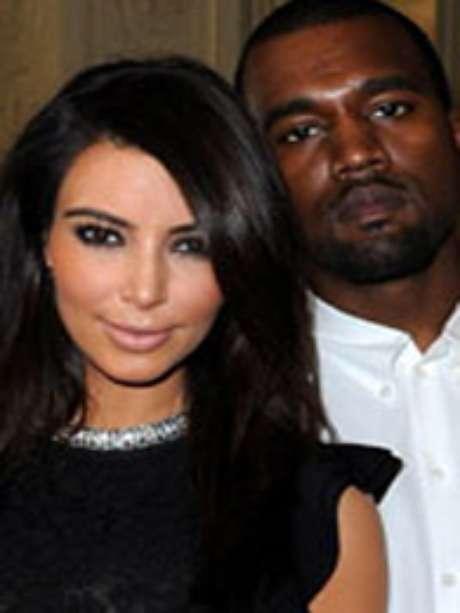 Kim Kardashian y Kanye West Foto: kimkardashian.celebuzz.com