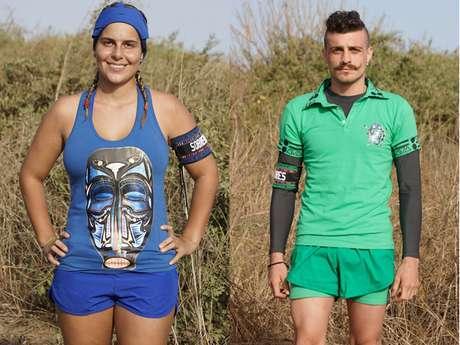 Carolina y Alejandro serían los ganadores del Desafío África. Foto: CaracolTV