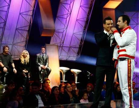 Imitador de Freddie Mercury le dijo adiós al reality Foto: Yo Soy Facebook Oficial