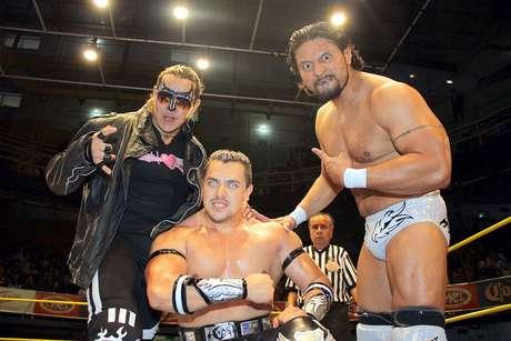 Terrible, Rey Bucanero y Vangellys van por el título de Campeones Nacionales de Tríos. Foto: Terra