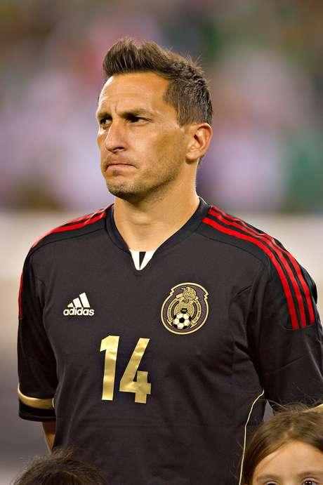 'Chaco' Giménez debutó con la selección mexicana. Foto: Terra