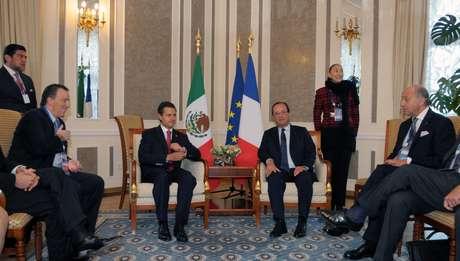 El presidente Enrique Peña Nieto, participó en la cumbre del G20 en San Petersburgo, Rusia. Foto: Especial / Terra