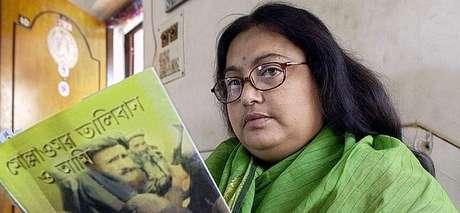La autora asesinada por los talibanes Sushmita Banerjee Foto: Efe