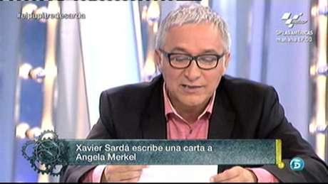 Javier Sardá, en 'El gran debate' Foto: TELECINCO