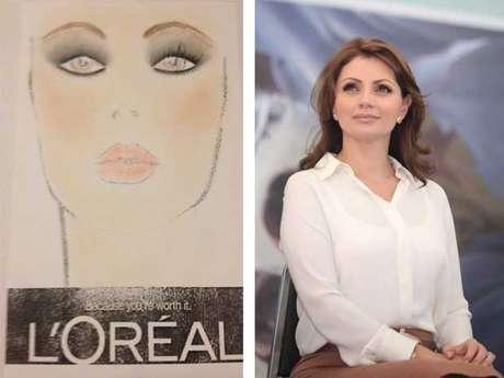 Foto: L'Oréal/Facebook Angélica Rivera