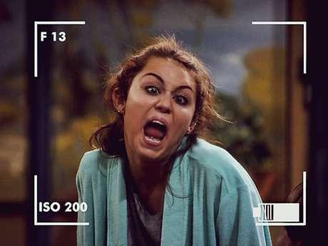 Se hicieron bromas sobre las reacciones deMiley Cyrus. Foto: Twitter