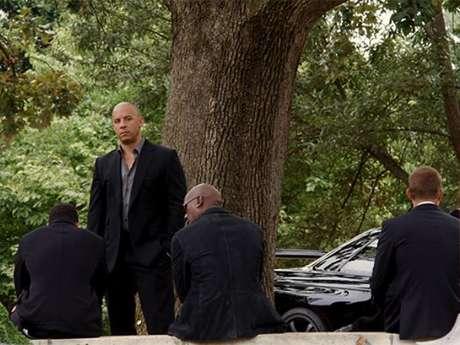 Vin Diesel en 'Rápidos y Furiosos 7'. Foto: Facebook Vin Diesel