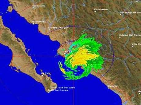 ´Manuel´ se encuentra a 35 kilómetros de Altata, sindicatura de Sinaloa donde la lluvia ya provocó daños esta madrugada. Foto: Especial