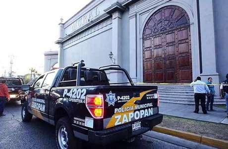 La Comisaría de Seguridad Pública del Estado confirmó que una de las explosiones fue ocasionada por una granada de fragmentación. Foto: Reforma