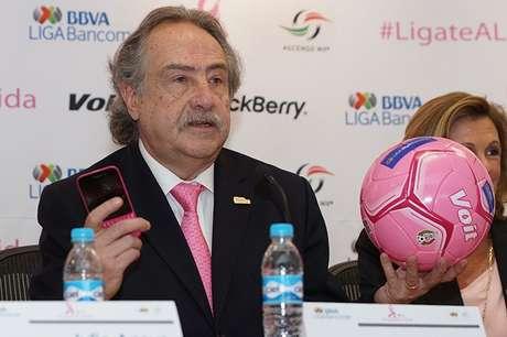 Decio de María, presidente de la Liga MX y Ascenso MX Foto: Cortesía Liga MX