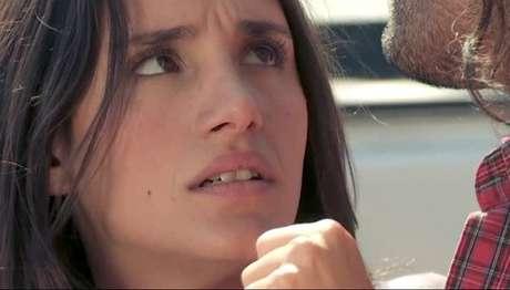 Isidora Urrejola grabó el teaser como protagonista de esta historia. Foto: Gentileza CNTV