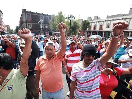 El cumplimiento de las demandas de la CNTE requeriría de 9 mil 97.2 millones de pesos. Foto: Luis Castillo / Reforma