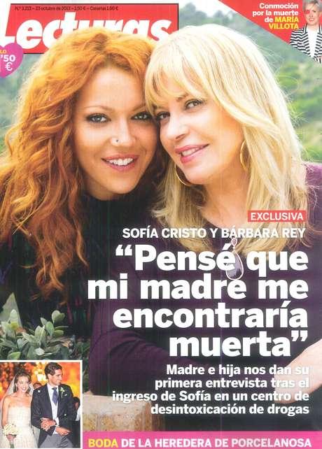 Sofía Cristo y Bárbara Rey Foto: Terra