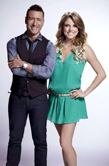 Jorge Bernal y Hannaley Suarez Foto: Telemundo