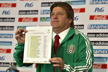 El 'Piojo' convocó a 22 futbolistas. Foto: Mexsport