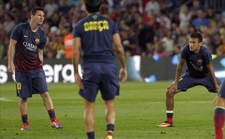 Galliani ve en Neymar-Messi mucho peligro y el dúo más fascinante del fútbol Foto: Agencia EFE / © EFE 2013. Está expresamente prohibida la redistribución y la redifusión de todo o parte de los contenidos de los servicios de Efe, sin previo y expreso consentimiento de la Agencia EFE S.A.