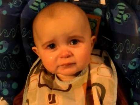 El video de la bebé que llora de emoción es la nueva sensación viral de internet. Foto: YouTube