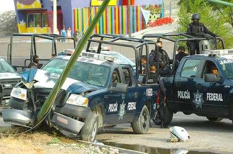 """De acuerdo con el periódico Reforma en su edición web, un grupo armado identificado como """"Los Ciclones"""" se resiste a entregar las armas y dejar la plaza, por lo que sus integrantes fueron perseguidos por sicarios del Cártel del Golfo (CDG), procedentes de Reynosa y Río Bravo. Foto: Tomada de Twitter"""