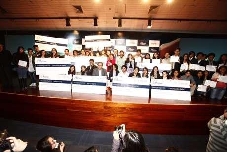 La novena edición del concurso Estímulo Telefónica a la Comunicación, Etecom 2013, que cada año es organizado por Telefónica, premió a estudiantes universitarios de periodismo por un total de S/. 27,000. Foto: Telefónica