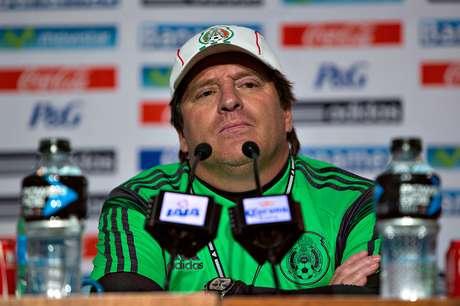"""El """"Piojo""""está contento con el accionar de la Selección Mexicana, que en tres partidos amistosos ha anotado 12 goles. Foto: Imago 7"""