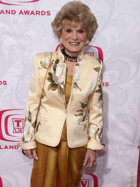Shirley Mitchell fue una estrella muy activa de la televisión. Foto: Getty Images