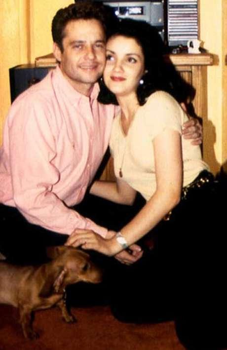Alexis Ayala y Karla Álvarez se casaron en 1994, su matrimonio duró poco menos de dos años. Foto: Reproducción