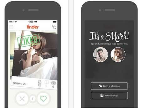 Tinder permite conocer a nuevas personas con el fin de encontrar pareja. Foto: Reproducción