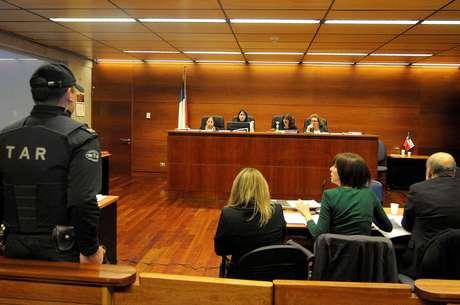 Imagen de juicio Foto: UPI