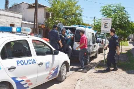 Hisse fue detenido y trasladado a la Policía Foto: http://elliberal.com.ar/