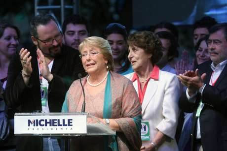 La presidenta electa Michelle Bachelet. Foto: UPI