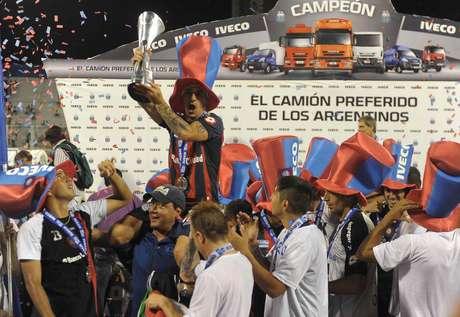 San Lorenzo, campeón del Inicial 2013 Foto: Télam