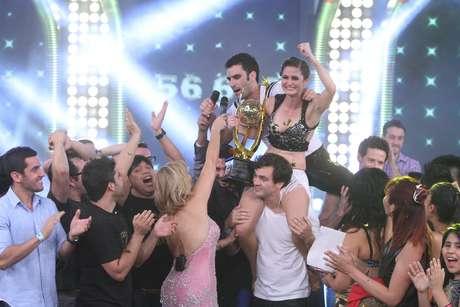 Carolina Cano fue la favorita enla final de 'Reyes del Show'. Foto: Miguel Bustamante / Terra Perú