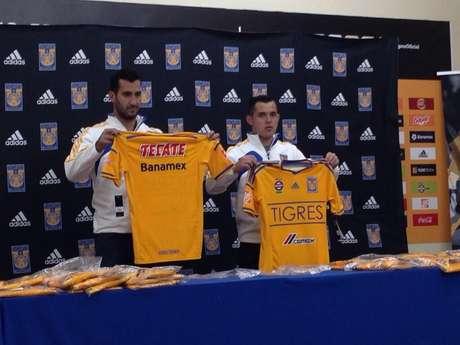 El uniforme destaca el color amarillo tradicional de los Tigres Foto: Twitter