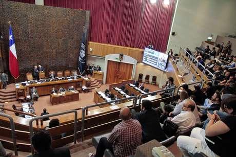 Un intenso debate se vivióen el Senado esta jornada en donde se analizóel Acuerdo de Vida en Pareja. Foto: UPI