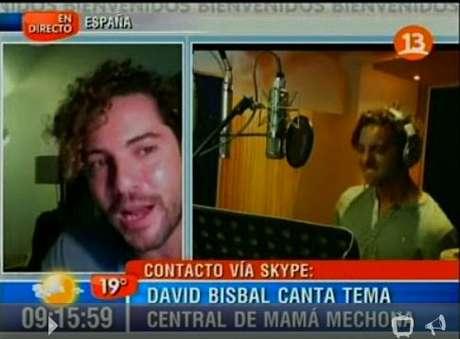 """En marzo se estrena """"Mamá mechona"""" y en ese mismo mes el cantante espera llegar a Chile para promocionar la canción y su nuevo disco. Foto: Gentileza Canal 13"""