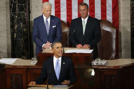 Obama alabó la labor de su esposa Michelle Obama. Foto: AP